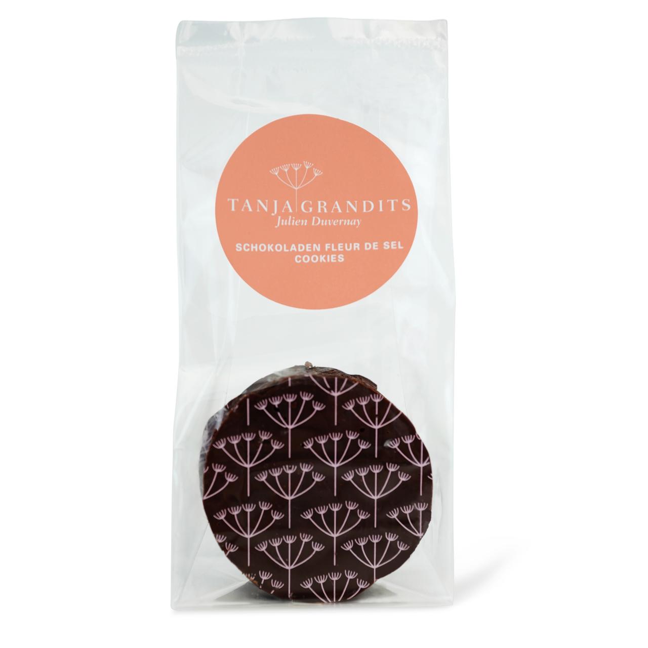 Tanja Grandits: Schokoladen Cookies mit Fleur de Sel