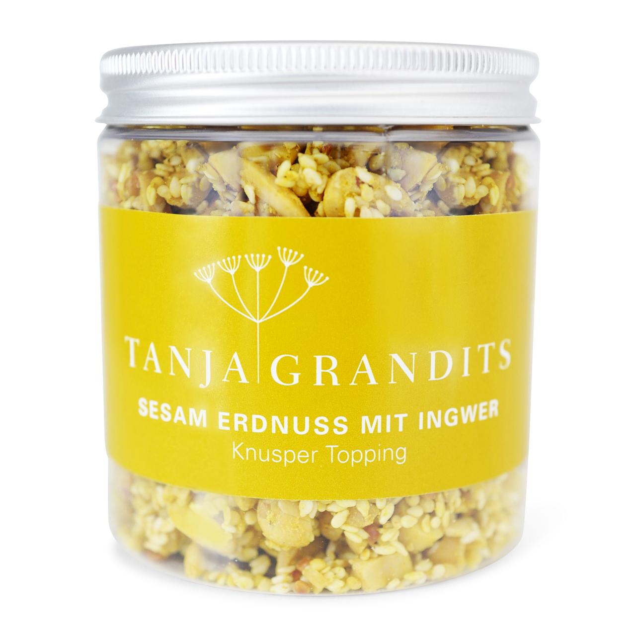 Tanja Grandits: Sesam Erdnuss Topping mit Ingwer