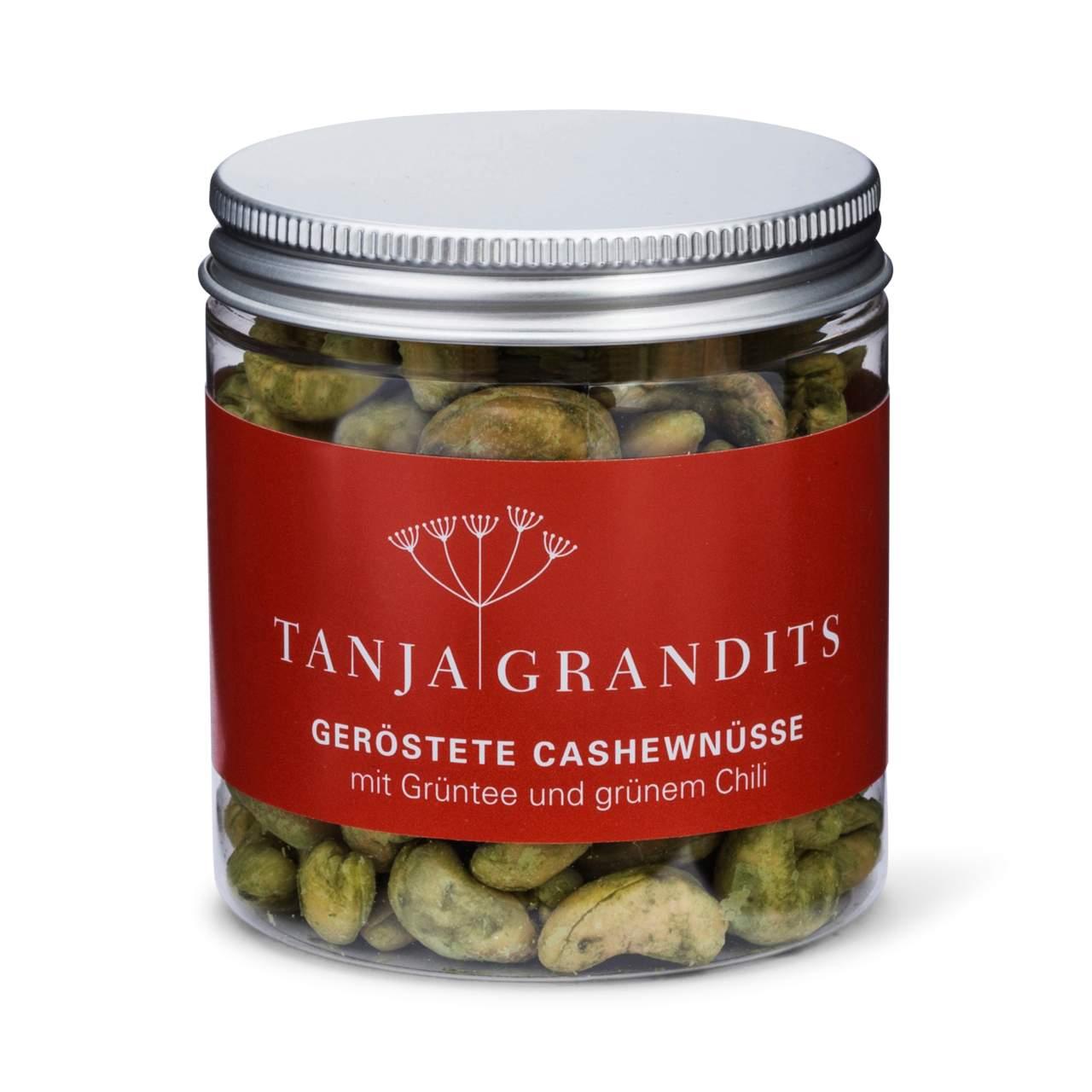 Tanja Grandits: Geröstete Cashewnüsse mit Grüntee und grünem Chili