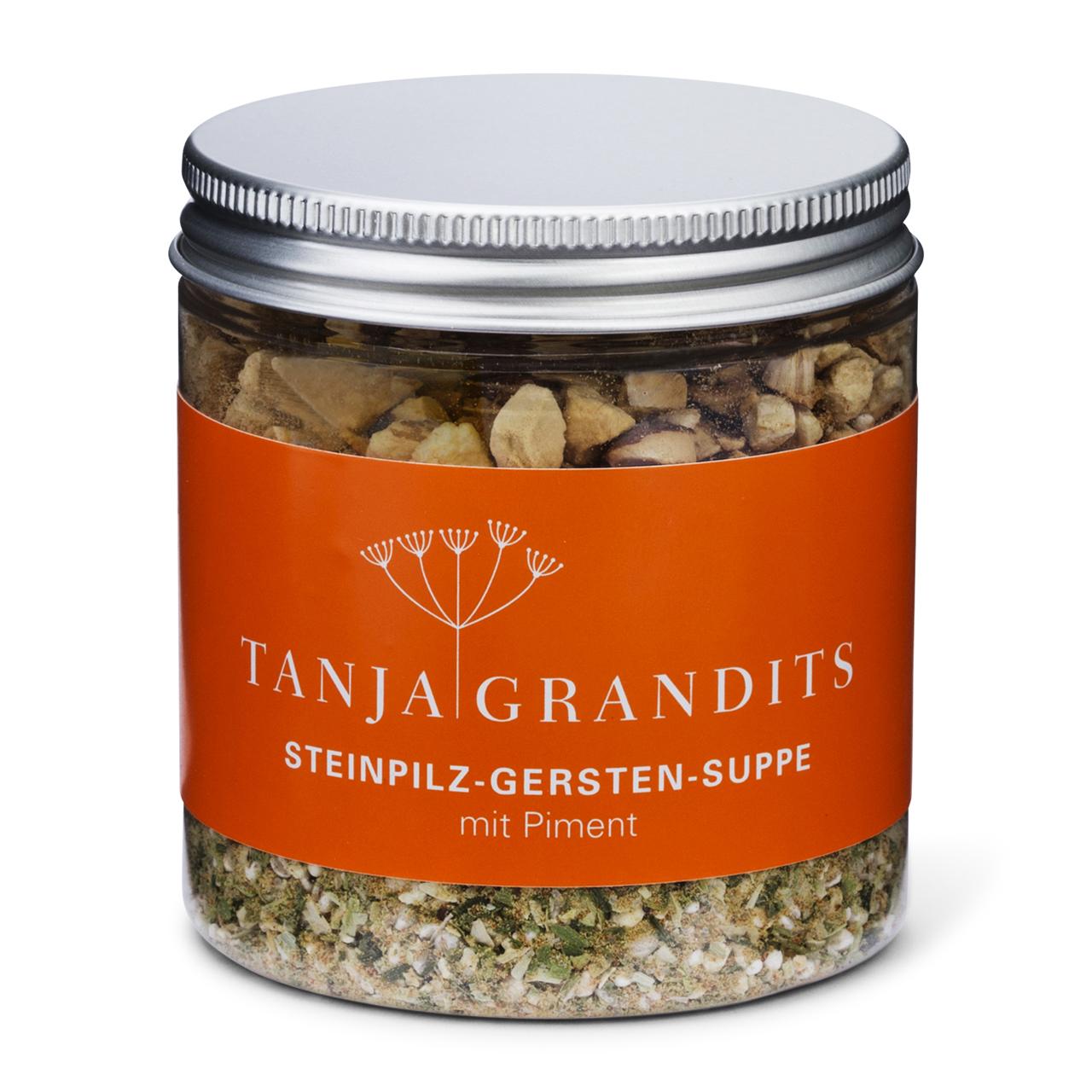 Tanja Grandits: Steinpilz Gersten Suppe mit Piment