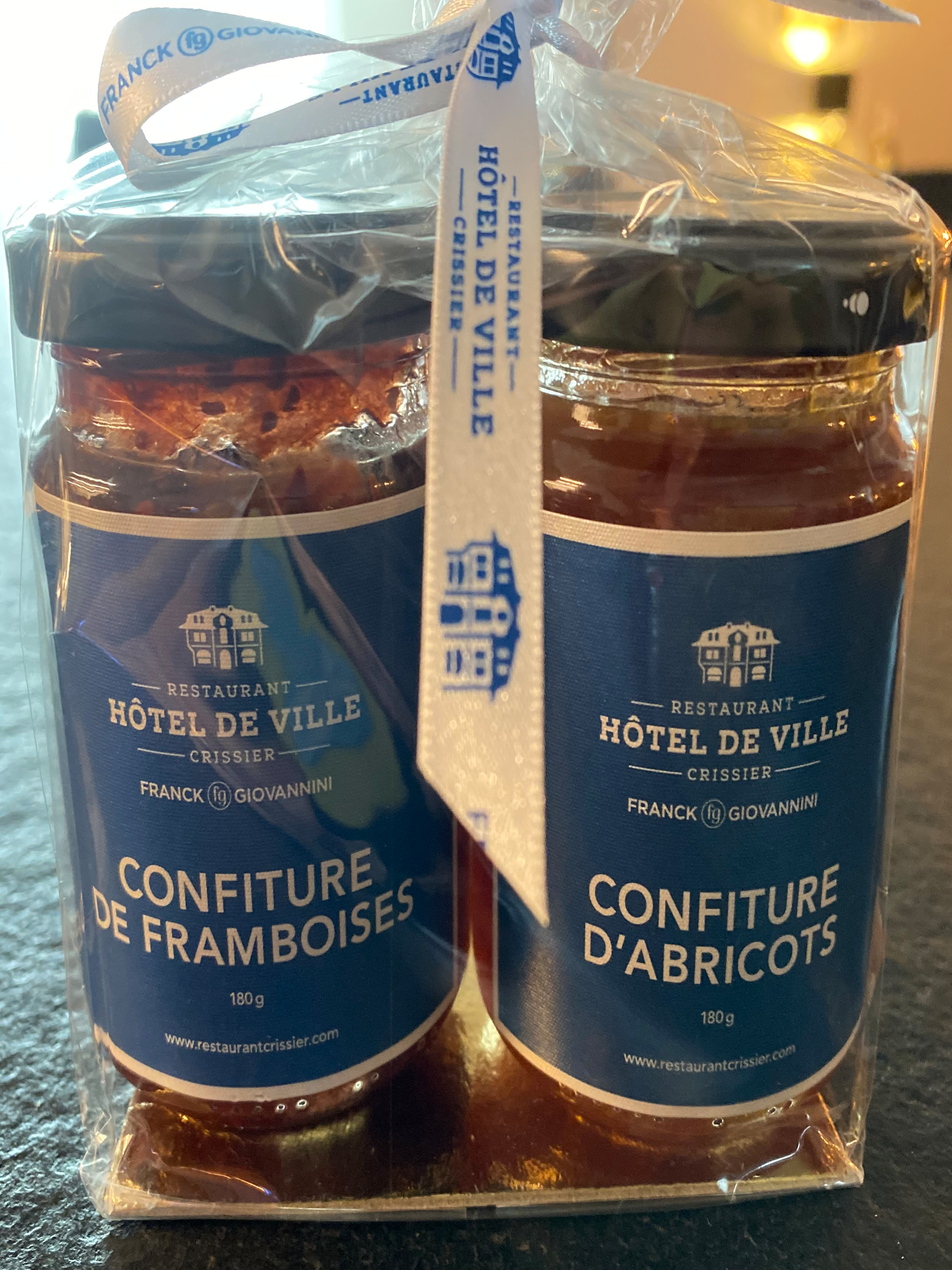Franck Giovanini: Duo Confitures 2 x 180g