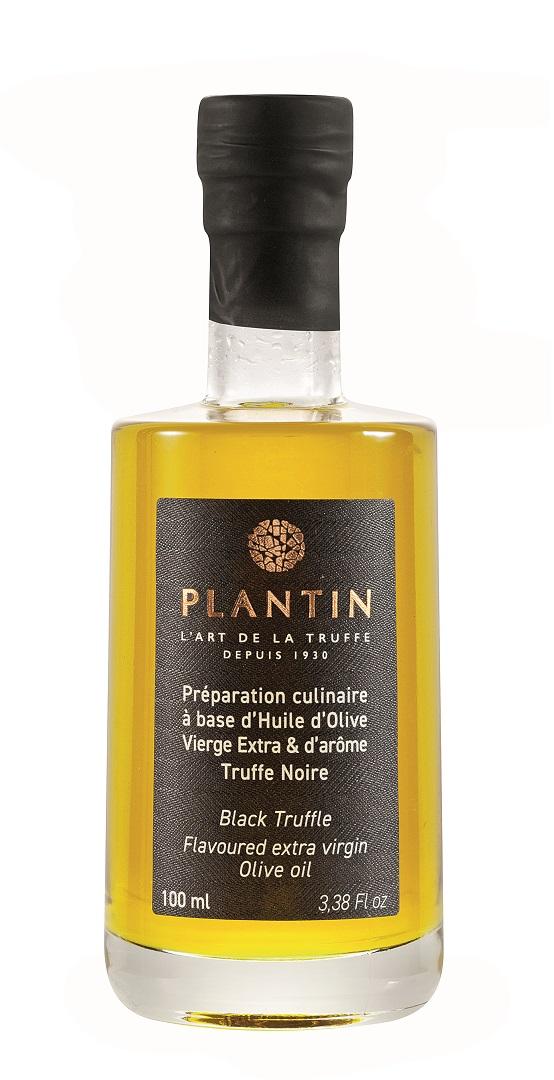 Olivenöl mit Trüffelaroma (schwarz)