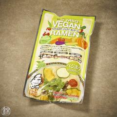 Veganes Ramen mit Gemüse-Brühe 236g (2 x 80g Nudeln, 2 x 38g Brühe)