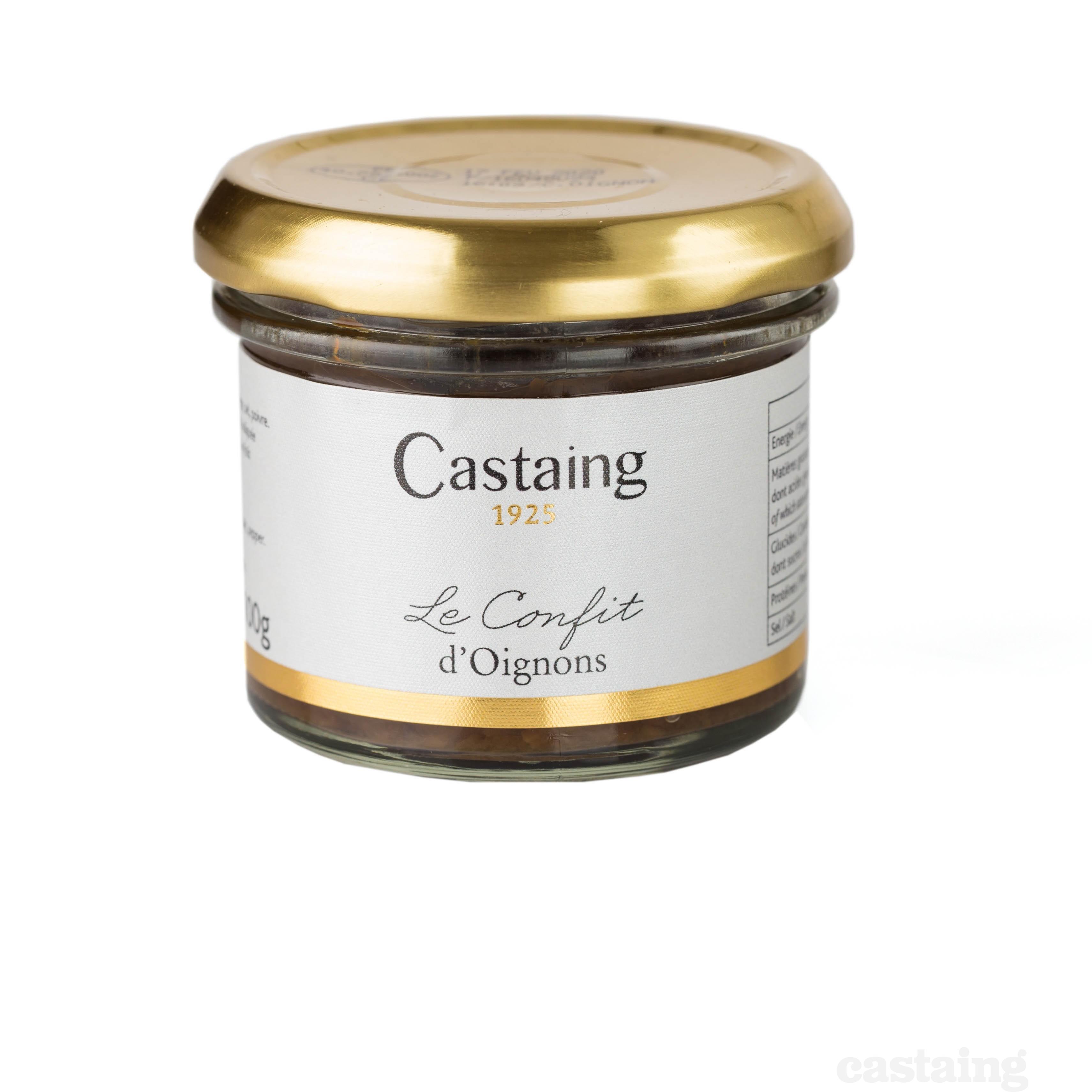 Castaing: Confit d'Oignons 100g
