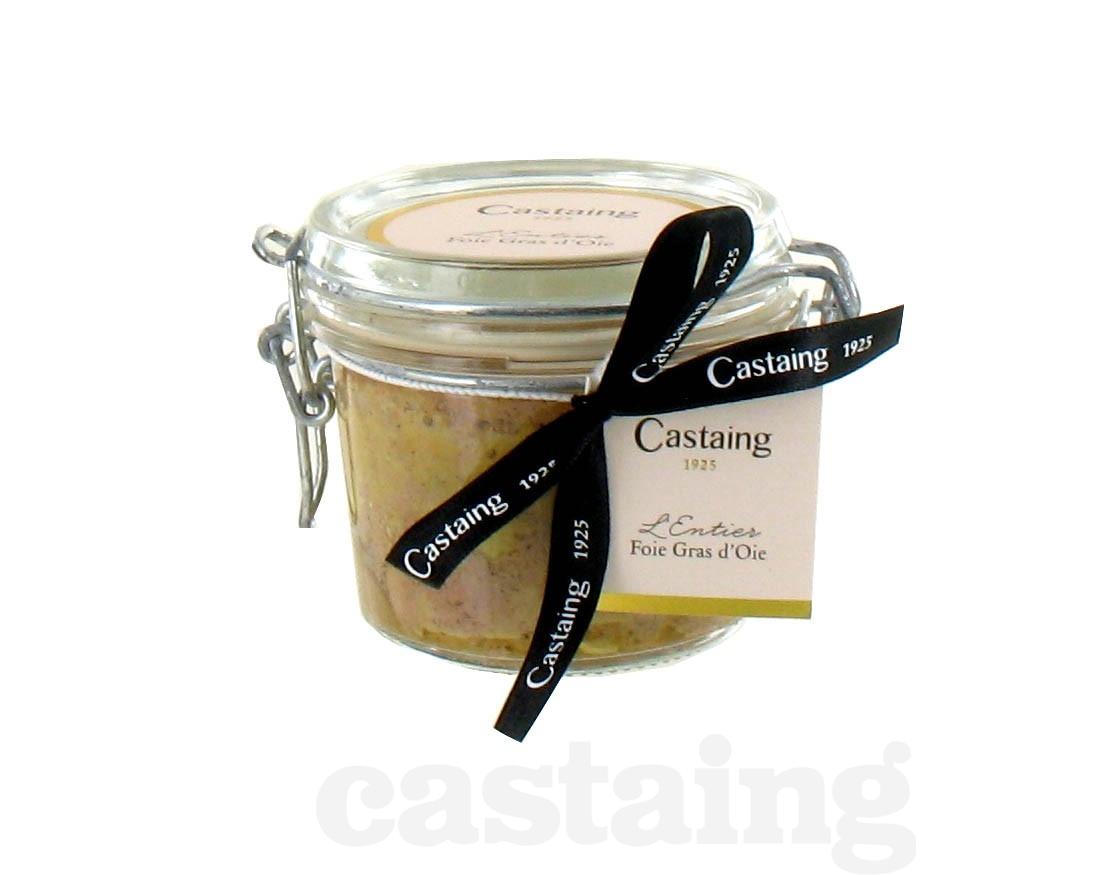 Castaing: Foie Gras d'Oie Entier 130g