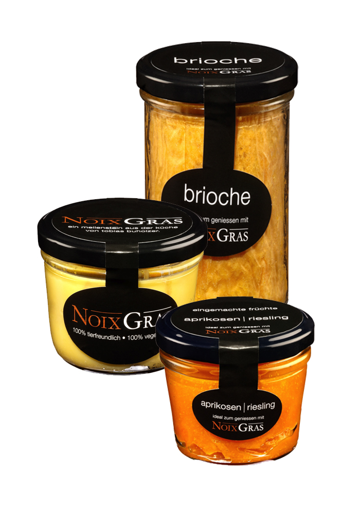Noix Gras with Apricots in Riesling from Tobias Buholzer